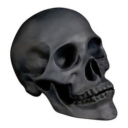 L'Objet - L'Objet Library Skull Black - L'Objet is best known for using ancient design techniques to create timeless, yet decidedly modern serveware, dishes, home decor and gifts.