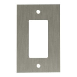 Liberty Hardware - Liberty Hardware 64931 Concave WP Collection 3.15 Inch Switch Plate - A simple change can make a huge impact on the look and feel of any room. Change out your old wall plates and give any room a brand new feel. Experience the look of a quality Liberty Hardware wall plate. Width - 3.15 Inch, Height - 4.9 Inch, Projection - 0.4 Inch, Finish - Satin Nickel, Weight - 0.32 Lbs.