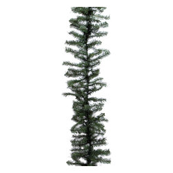 """Vickerman - Canadian Pine Garland 280 Tips (9' x 14"""") - 9' x 14"""" Canadian Pine Garland With 280 Tips"""