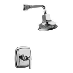 KOHLER - KOHLER K-T16234-4-CP Margaux Rite-Temp Shower Faucet Trim with Lever Handle in P - KOHLER K-T16234-4-CP Margaux Rite-Temp Shower Faucet Trim with Lever Handle in Polished ChromeMargaux offers a unique blend of traditional design elements and modern fluidity to complement eclectic design interiors with refreshed sophistication.KOHLER K-T16234-4-CP Margaux Rite-Temp Shower Faucet Trim with Lever Handle in Polished Chrome, Features:• KOHLER finishes resist corrosion and tarnishing, exceeding industry durability standards over two times