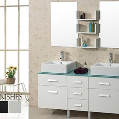 modern bathroom vanities and sink consoles by Tatari Design Center