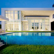 modern pool Dream House
