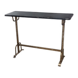 Moe's Home Collection - Moe's Home Sturdy Rectangular Bar Table - Transitional bar style table