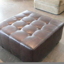 Transitional Ottomans And Cubes by Monarch Sofas