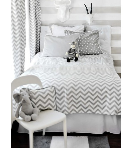 modern kids bedding by New Arrivals, Inc