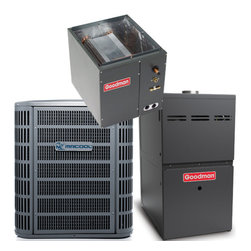 MRCOOL LLC - MRCOOL 1.5 Ton 13 SEER R410A 80% AFUE Complete Split System A/C & Gas - MRCOOL Ton 13 SEER R410A Split System A/C Only Condenser 10 Year Compressor and Parts Warranty