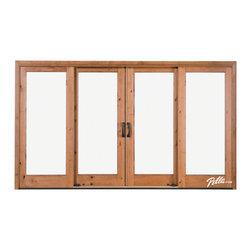 Pella® Architect Series® 4-Panel Sliding Patio Door - Features