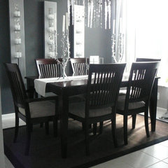 contemporary family room by FOCAL POINT STYLING