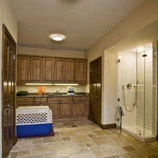 Traditional Laundry Room by Orren Pickell Building Group