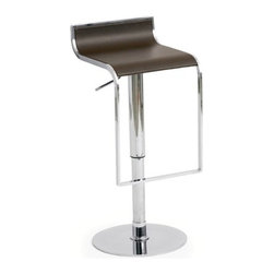 Nuevoliving - Nuevo Living Alexander Stool - Chocolate - HGGA182 Color: White