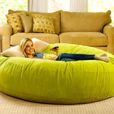 Contemporary Bean Bag Chairs by Brookstone