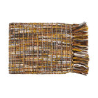 Surya - Surya Tabitha Ochre Multicolor Throw Blanket -