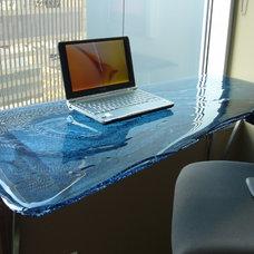 Contemporary Desks by Glassworks, Inc.