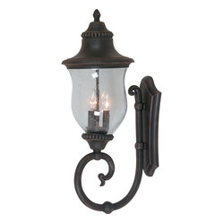 Artcraft Lighting AC8380BZ Premiere Rubbed Bronze Outdoor Wall Sconce