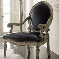 "Old Hickory Tannery ""Louis"" Chair"
