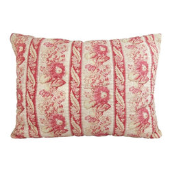 Vintage House - Vintage House by Park B. Smith Le Flaive Standard Pillow Sham - LEFL94-CIN - Shop for Pillowcases and Shams from Hayneedle.com! Look no longer for the perfect pillow with the Vintage House by Park B. Smith Le Flaive Standard Pillow Sham. A perfect match with the Le Flaive set this sham is 100% polyester. Soft floral lines merge with details in your choice of color creating a perfect place to dream. Machine-wash only on cold tumble dry.