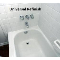 Universal Refinish LLC - Replacing your tub will cost thousands of dollars. Our quality bathtub refinishing service for the Atlanta area is cost effective & will save you a fortune. Imagine ripping your walls out just to fit in in the new tub, damaging the floors, needing a plumber, all the time involved and money spent on the renovation. Trust us we have been doing this for years and we know the headache that people save by just refinishing there tubs.