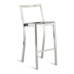 Icon Bar Stool, Polished