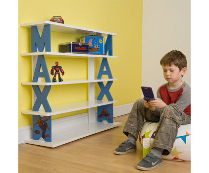 Eclectic Kids Bookcases by Punkin Patch Interiors