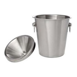 Franmara - Stainless Steel Brush Finish Wine Tasting Receptacle Spittoon Set - This gorgeous Stainless Steel Brush Finish Wine Tasting Receptacle Spittoon Set has the finest details and highest quality you will find anywhere! Stainless Steel Brush Finish Wine Tasting Receptacle Spittoon Set is truly remarkable.