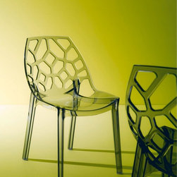 Contemporary Casual Dining Chairs - Bontempi Casa dining chairs from Lime Modern Living