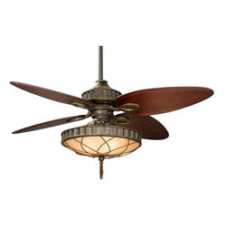 "Fanimation - Fanimation LB270 Bayhill 56"" 4 Blade Ceiling Fan - Blades, Light Kit, & Wall C - Included Components:"