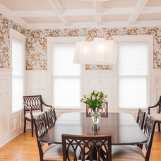 Traditional Dining Room by Elise Moore Design