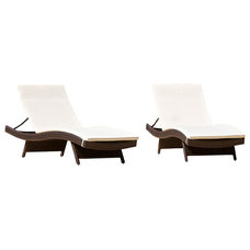 Traditional Outdoor Chaise Lounges by Great Deal Furniture