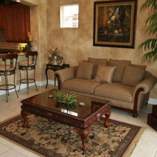 Traditional Family Room by Brista Homes