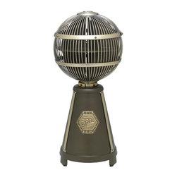 Joshua Marshal - Bronze Portable Fan - Bronze Portable Fan