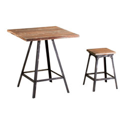 Cyan Design - Cyan Design Lighting - 04875 Redmond Stool - Cyan Design 04875 Redmond Stool
