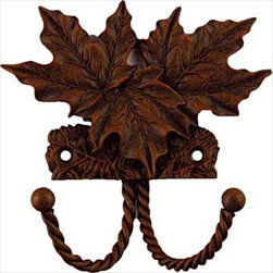 Sierra Lifestyles Decorative Hook - Maple Leaf - Rust - Get Idea About Sierra Lifestyles Decorative Hook - Maple Leaf - Antique Brass. Sierra Lifestyles  Cabinet Hardware, Cabinet  Knobs, Cabinet Pulls , Switch plates, Rustic cabinet hardware, Double Hook, Hook, Decorative Hook, Knobs, Pulls and Decorative Hardware Accessories