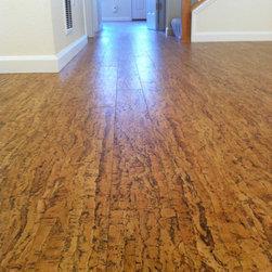 USFloors - Cork Floor - This is Allegro Natural cork flooring by USFloors.  So far it is wearing well and we love it.