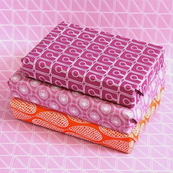 Ultra-Eco Wrapping Paper, Set of Six Designs