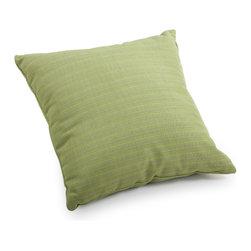 ZUO VIVA - Cat Small Pillow Apple Green Linen - Cat Small Pillow Apple Green Linen