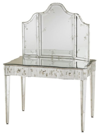 Traditional Makeup Mirrors by Stacey Cohen Interiors
