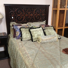 Mediterranean Beds by Rustic Home