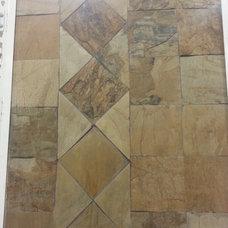 Traditional Floor Tiles Displays