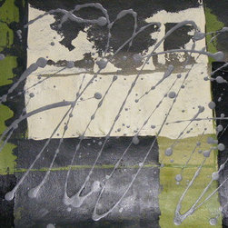 Rain (Original) by Debera - Rain is an original, signed acrylic on hand-pressed paper and comes with a Certificate of Authenticity.