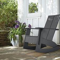 Modern Outdoor Lounge Chairs outdoor rocker