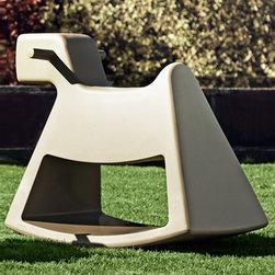 Vondom - Vondom | Rosinante Rocking Horse - Design by Eero Aarnio.