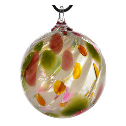 Glass Eye Studio Hand Blown Glass Ornament, Tulip Flurry - Whether you have collected Glass Eye Ornaments or this is your first piece, we are confident that your ornament will be enjoyed over the years. Using a variety of materials, skilled artists hand makes each ornament using ancient techniques.