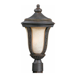 Triarch International - Triarch 75375-11 Ambassador Weathered Bronze Outdoor Post Light - Triarch 75375-11 Ambassador Weathered Bronze Outdoor Post Light