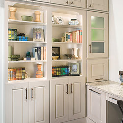 Bookcases and Storage - There's no reason to run out of storage space, (decorative or hidden) - within a 10' wall create all the storage that you need for your home office / living area.