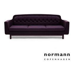 Normann Copenhagen Onkel Sofa 3-Seater Purple - Normann Copenhagen Onkel Sofa 3-Seater Purple