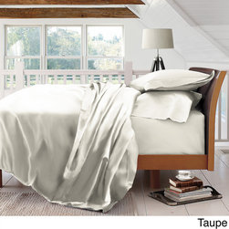 None - Sandra Venditti 600 Thread Count Cotton Rich Sheet Set - A lustrous and luxurious 600 thread count construction lends relaxing comfort to this captivating sheet set. Available in several neutral colors,this lovely set of sheets is conveniently machine washable.