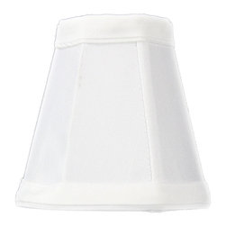 Home Concept - Candelabra Stretch White Deluxe lamp shade 2x3.5x3.5 - Celebrate Your Home - Home Concept invites you to welcome your guests with our array of lampshade styles that will instantly upgrade your space