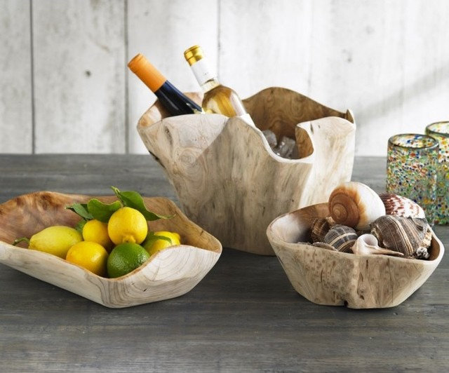 Eclectic Serving Bowls by VivaTerra