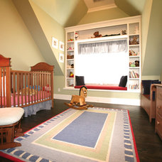 Traditional Nursery by FrontPorch