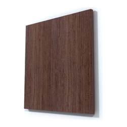 Dun Wenge Wood Wall Art - Beautiful Dun Wenge Wood Wall Art perfect for any contemporary or modern space.